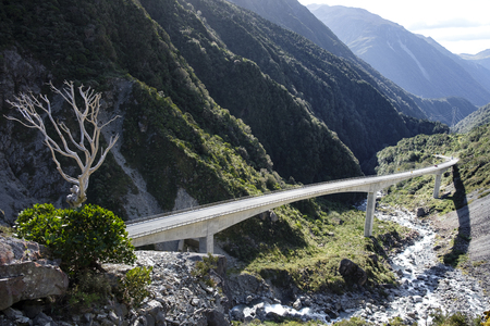 Otira Gorge Viaduct, New Zealand