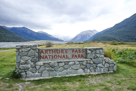 Arthurs Pass National Park Stock Photo