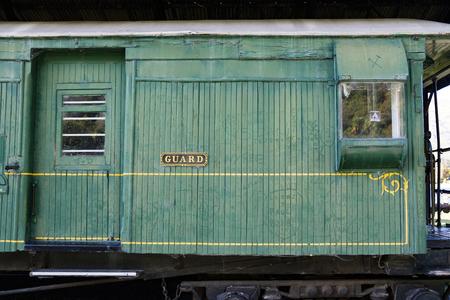 heritage railway , near Queenstown, South Island, New Zealand