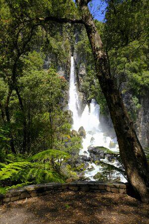 Tarawera Falls, North Island New Zealand