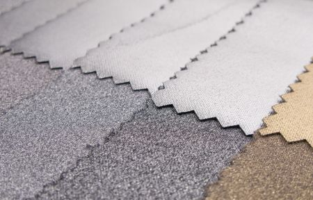Decorative and fashion textile cloth color chart