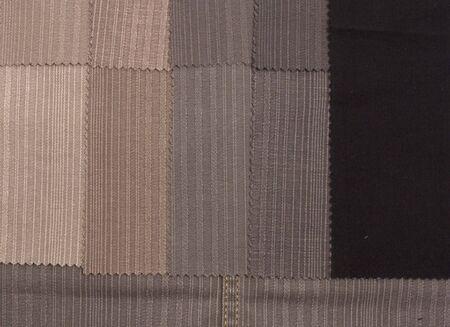 Textile cotton sample textures Stock Photo