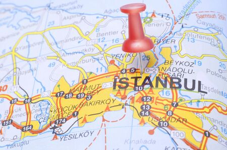 vacation map: Red Pushin suggests destination Istanbul - Turkey