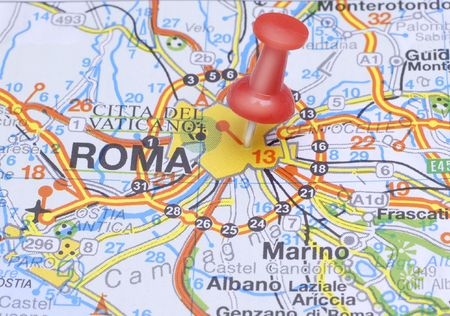 Red Pushin suggests destination Rome, Italy
