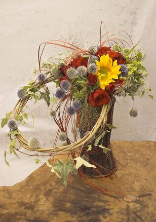 exotic flowers arrangement