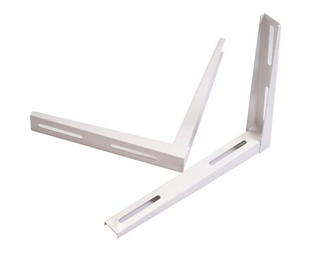 Angular air conditioner unit holder