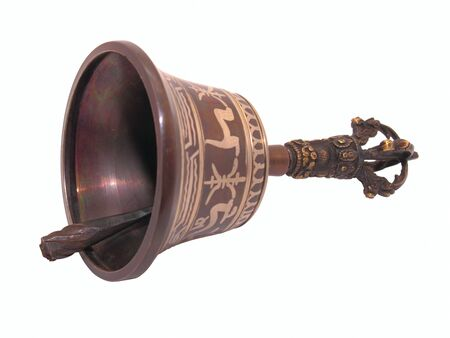 Ceremonial hand bell for meditation