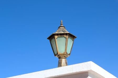 Street lamp in the antique style Stock Photo - 8892600