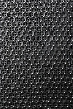 Black Iron Grill en de ondergrond van het net als achtergrond Stockfoto - 11450236