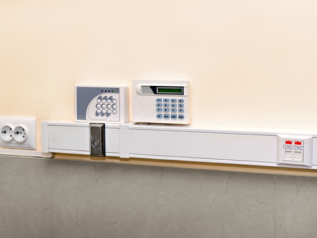 Panel Burglar and Fire Alarm