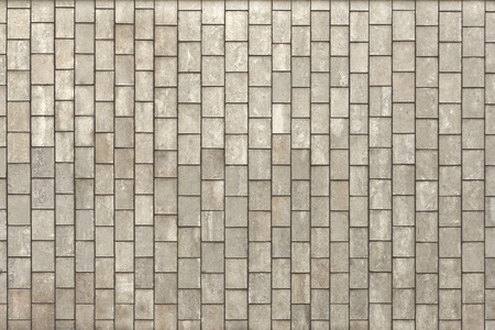 Facing gray tiles as a vintage background Stock Photo