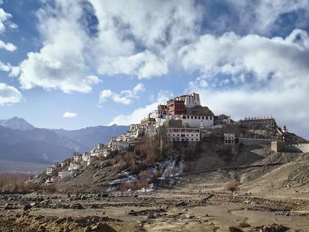 ladakh: Buddhist monastery Tiksi India Himalayas Ladakh