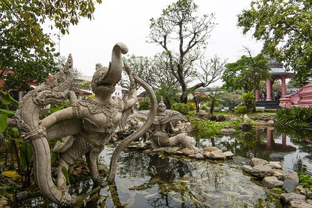 garuda: Garuda in Forest creatures