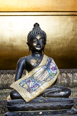 Small Buddha Bronze Age full Stock Photo