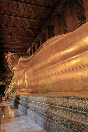 spirituell: Reclining Buddha
