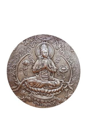 spirituell: Circle Buddha