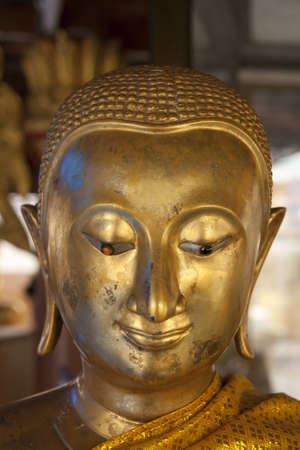 Face little buddha Stock Photo