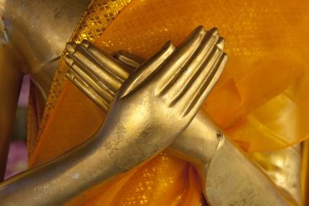 Two hand buddha Stock Photo - 12334263