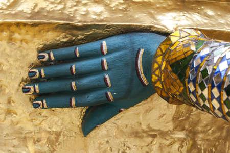 Hand of Angel yak Stock Photo - 12719855
