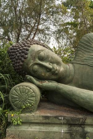 nirvana: Buddha image style nirvana