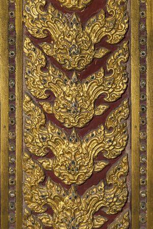Thai Fine Arts line Stock Photo - 13709963