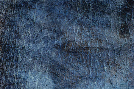 Blue abstract textured cracked grungy design backdrop