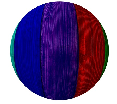 paint chipping: Different colorful wooden ball i imagine of amazing color