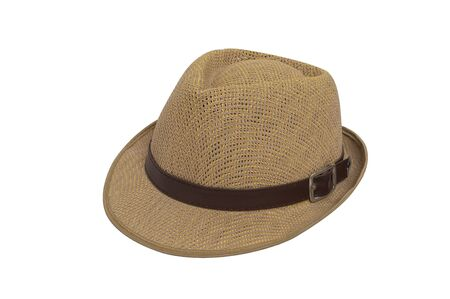 Vintage hat on white background Stock Photo - 14536311