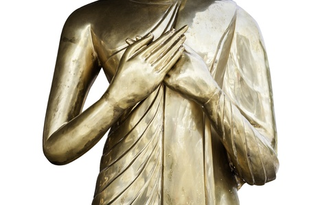 Zwei-Hand-buddha