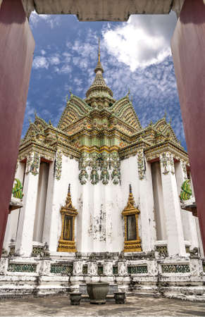 Buddhism temple at Bangkok,Thailand  photo