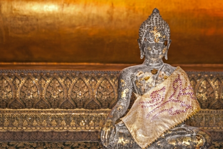 spirituell: Small Buddha Bronze Age