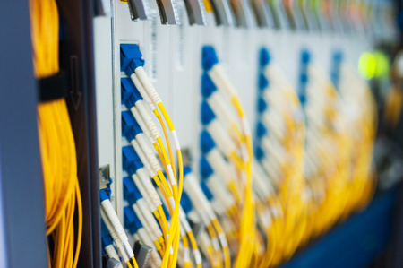 Netzwerk-Server in Datenraum. Standard-Bild - 33697610
