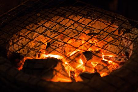 no food: Hot stove no food on top .