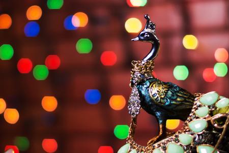 Una estatua de descanso en la sensaci�n de paz. Foto de archivo
