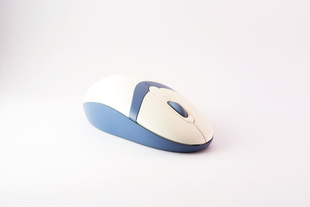 An Mouse computer in studio light .