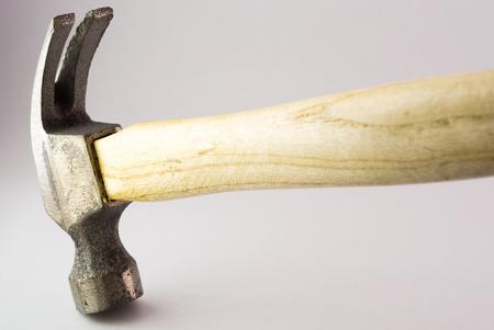 An Small hammer in studio light . Stock Photo