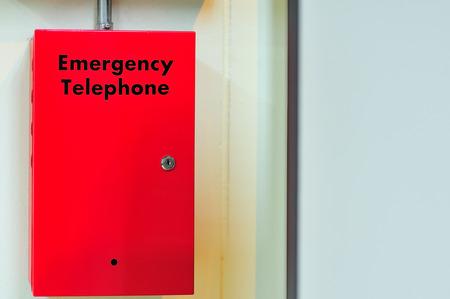 Box of telephone emergency call security .