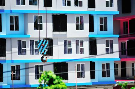 hoist: An hoist on top industry place .