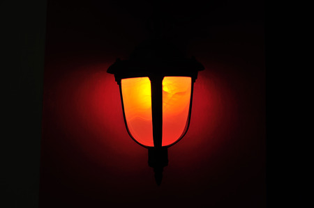 lampshade: An Lamp light in studio place .