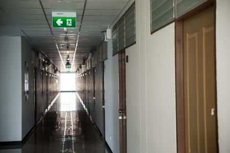fire exit: An Fire exit way concept .