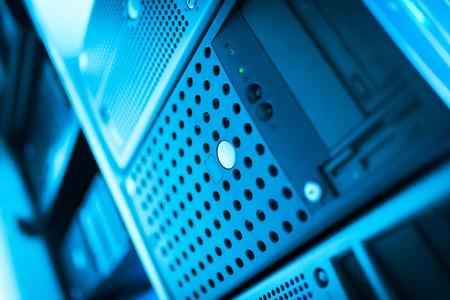 serveurs de réseau dans la salle de données Pièce.