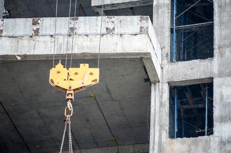 hoists: An Hoists in construction place .