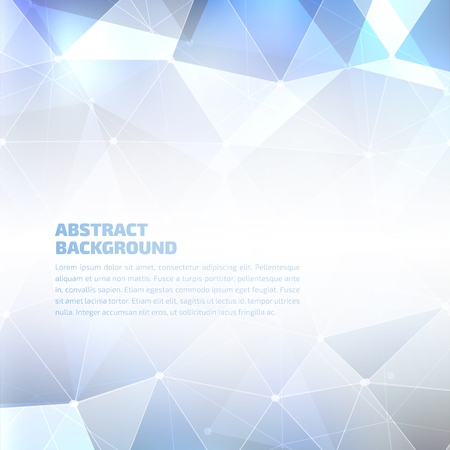Vector abstract geometric background. High quality design element. Eps10