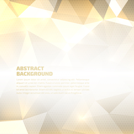 color background: Vector abstract geometric background. High quality design element. Eps10