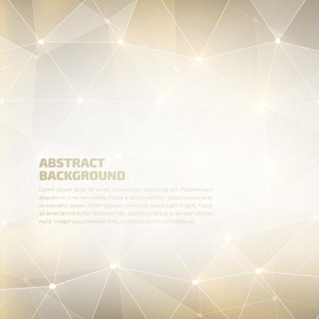 ベクトルの幾何学的な抽象的な背景。高品質デザイン要素。Eps10
