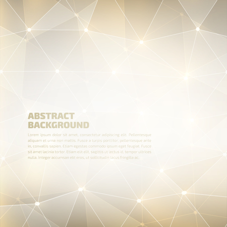 Vector abstract geometric background. High quality design element. Eps10 Imagens - 52746194