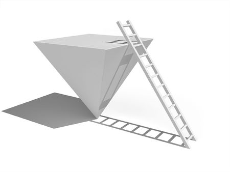 assigned: Ladder assigned to the pyramid