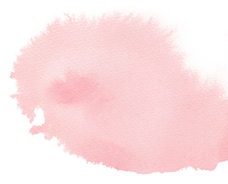 Watercolor Background Isolated Wash Gradient Blush Pink Reklamní fotografie