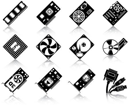random access memory: 12 icons of computer hardware
