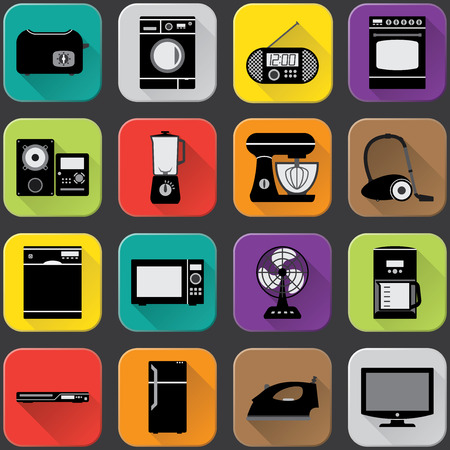Home Appliances Icons Imagens - 27903048
